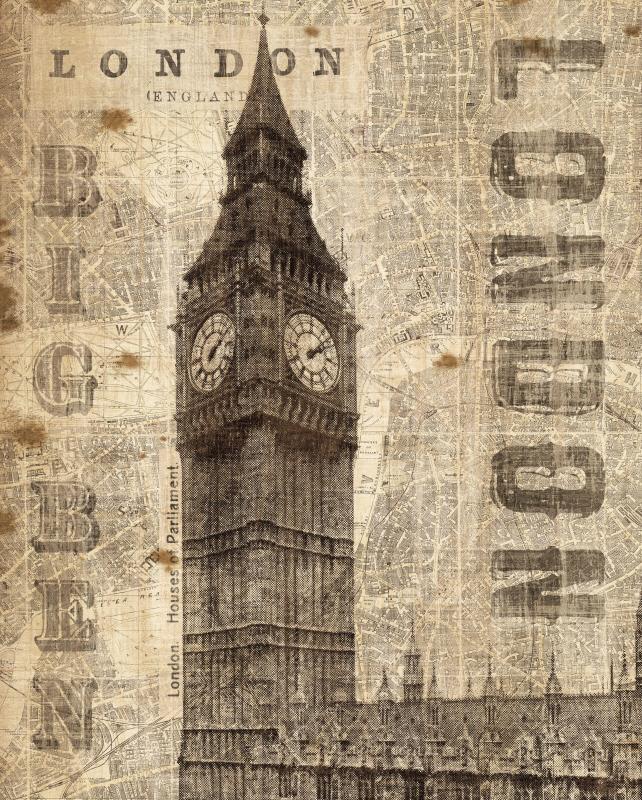 Vintage London - Big Ben