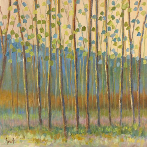 Through Pastel Trees