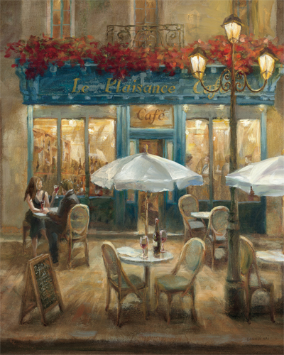 Paris Cafe I Crop