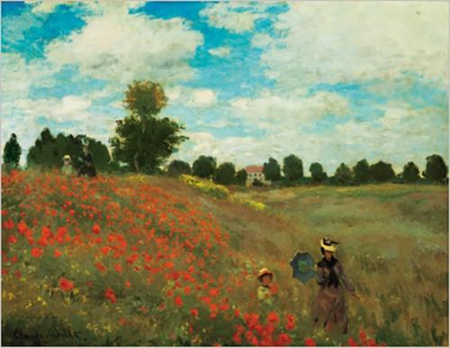 Wild Poppies, Near Argenteuil