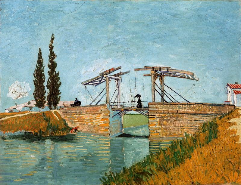 The Langlois Bridge (아를의 랑그루아 다리)