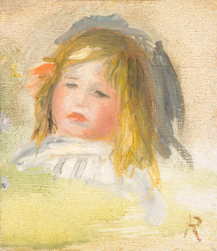 Child with Blond Hair