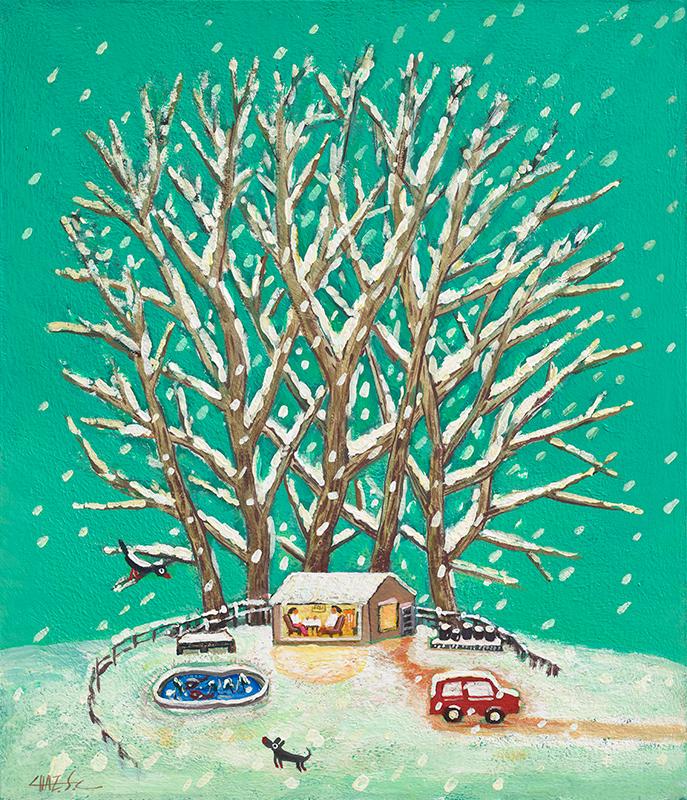 집으로 가는 길_겨울나무