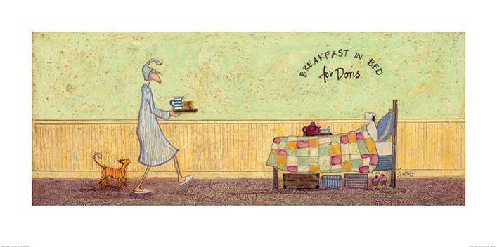 Breakfast in Bed For Doris