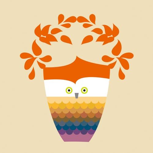 트로피 부엉이 The Trophy Owl (Orange)