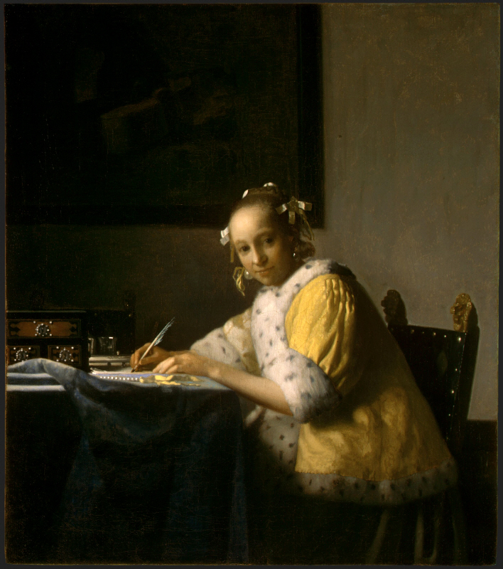 A Lady Writing (편지를 쓰는 여인)