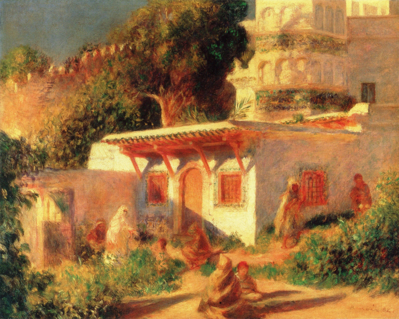 Mosque at Algiers, 1882