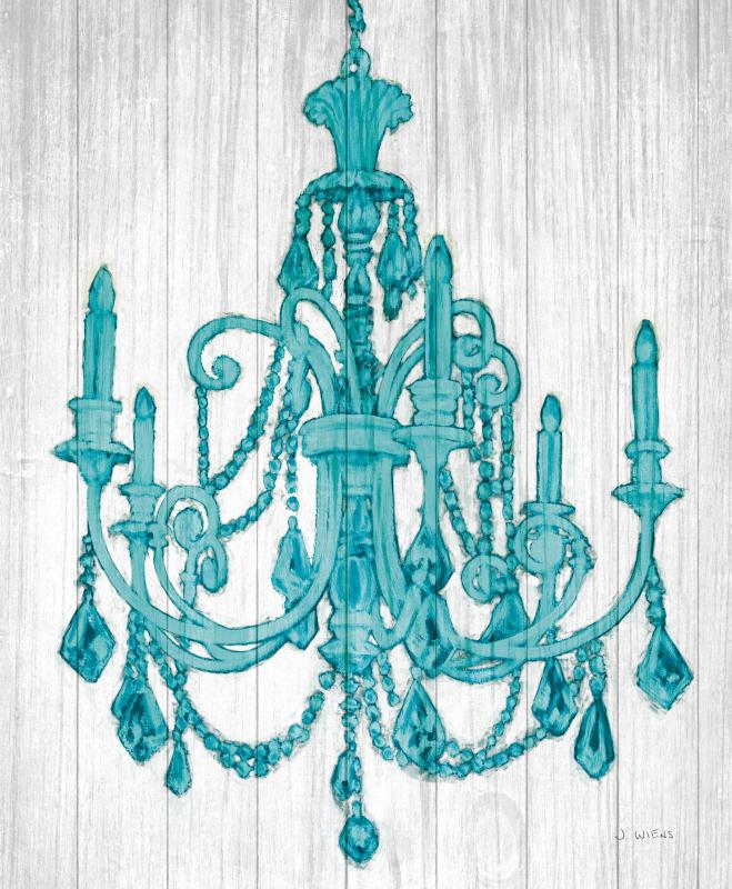 Luxurious Lights III Turquoise Crop(부부의세계 협찬그림)