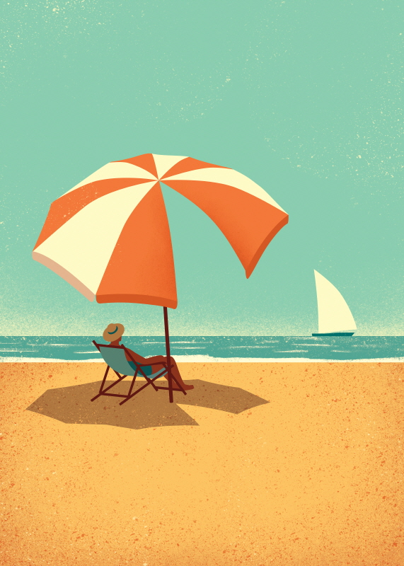 Summertime (스타트업 협찬그림)