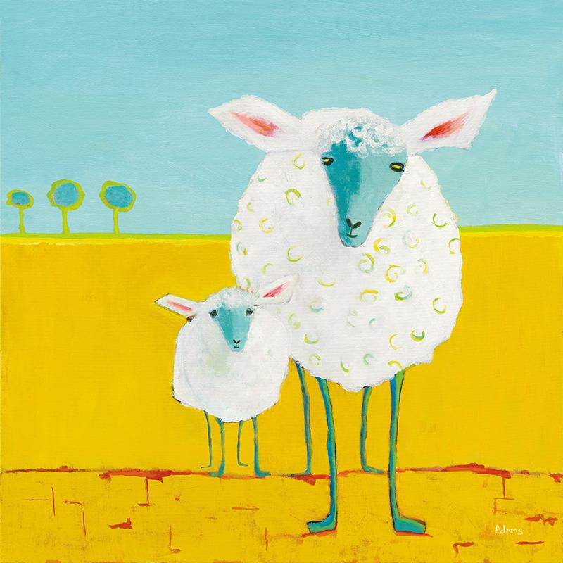Mama and Baby Sheep