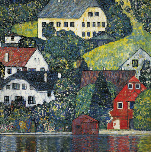 House at Unterach on the Attersee