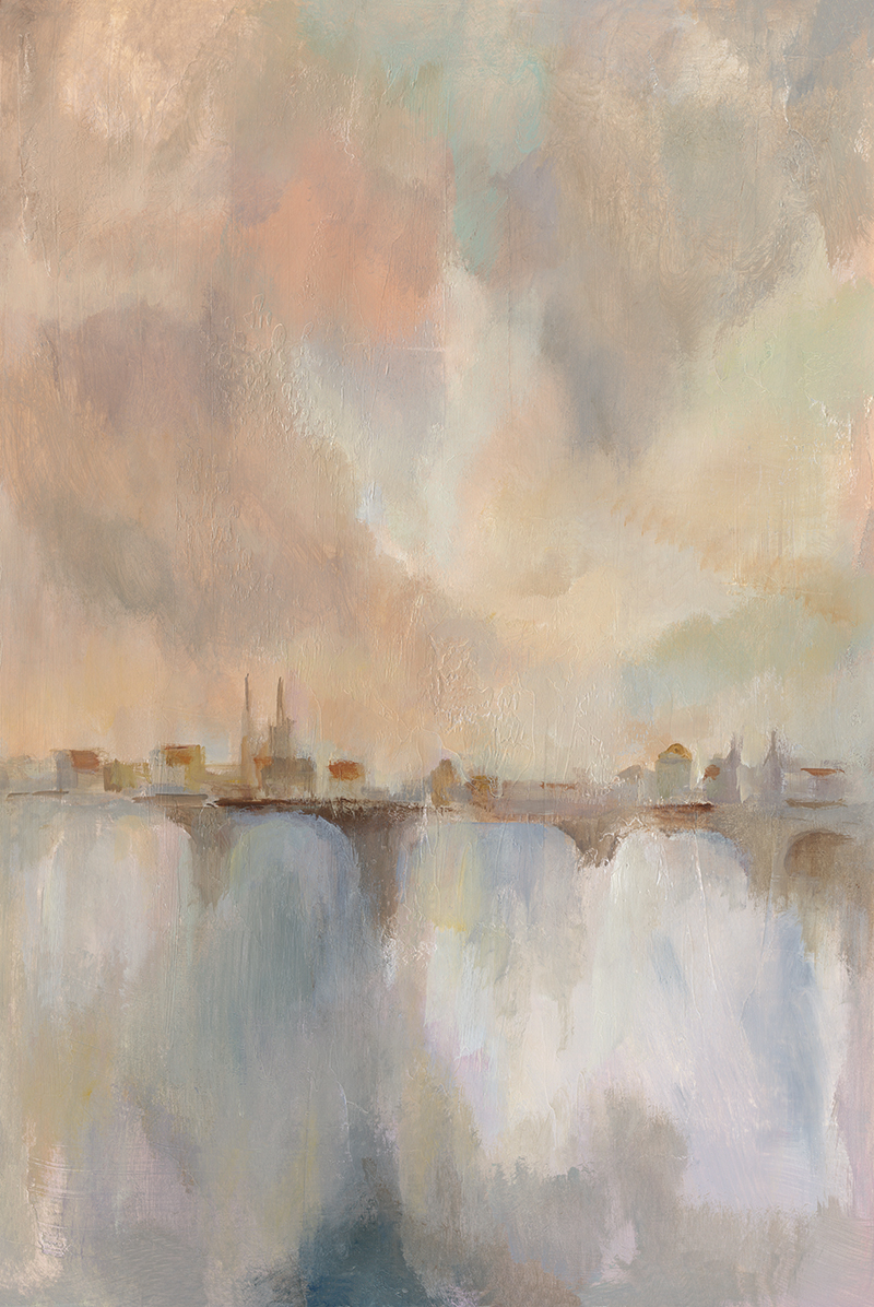 Paris Morning Mist II