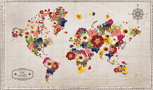 Floral Map