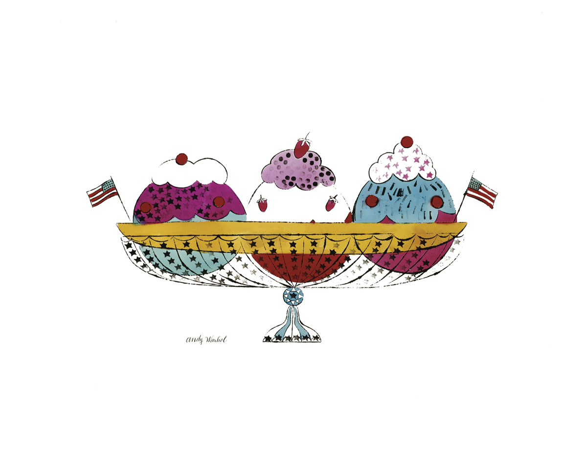 Ice Cream Dessert, c.1959 (3 scoop)