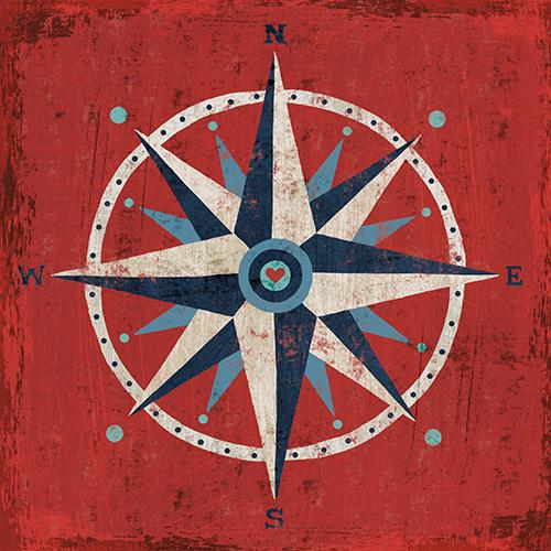 Nautical Love Compass