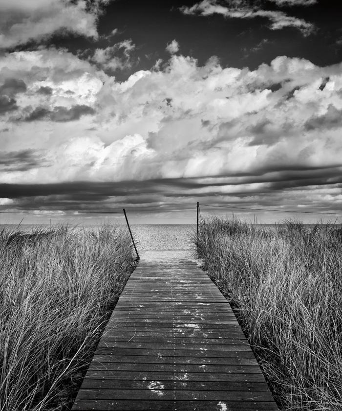 Oak Bluffs Beach Path