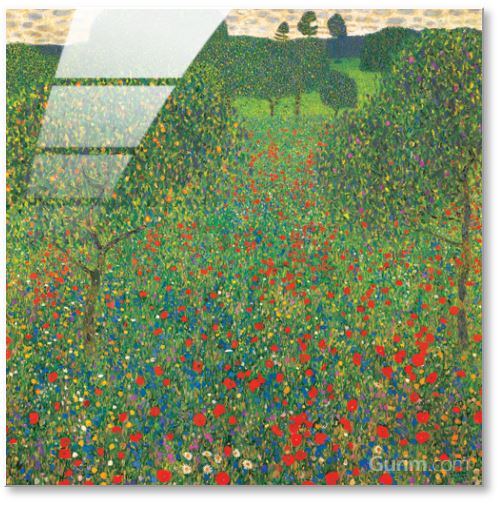 Meadow with Poppies