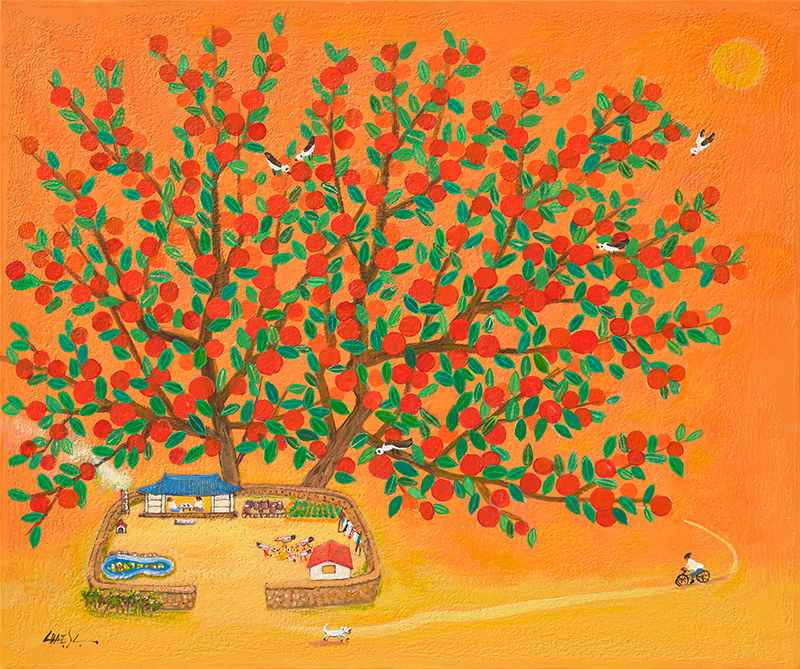 집으로 가는 길_사과나무
