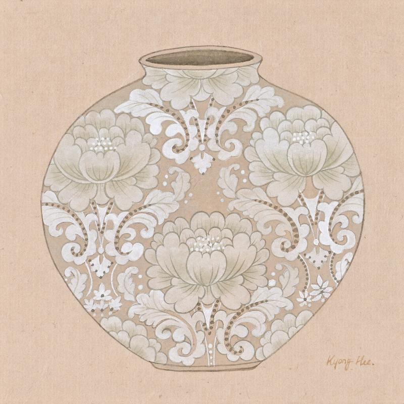 달항아리_lotus ornament