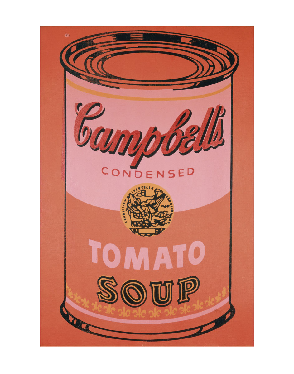 Campbell's Soup Can, 1965 (orange)