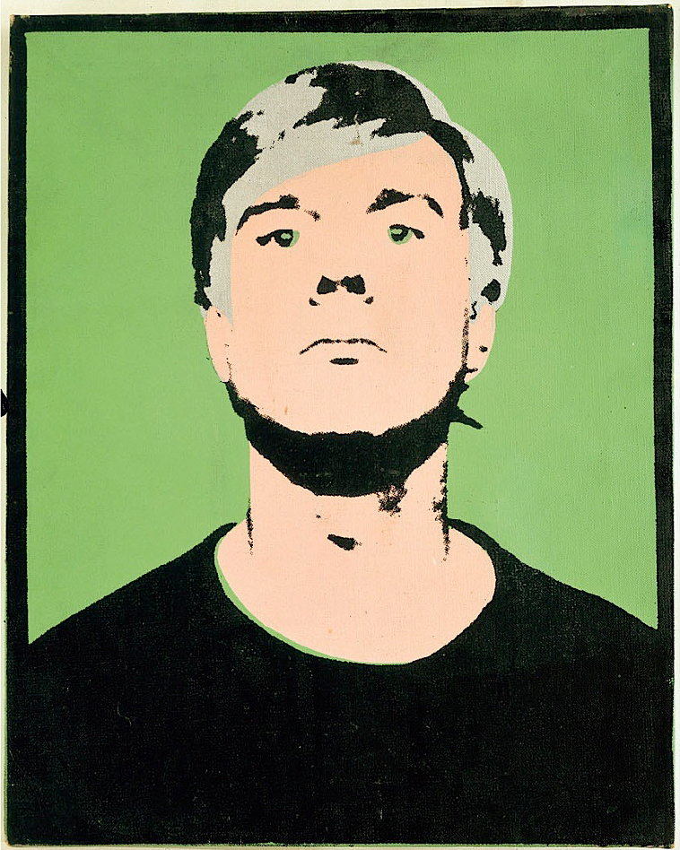 Self-Portrait, 1964 (on green)