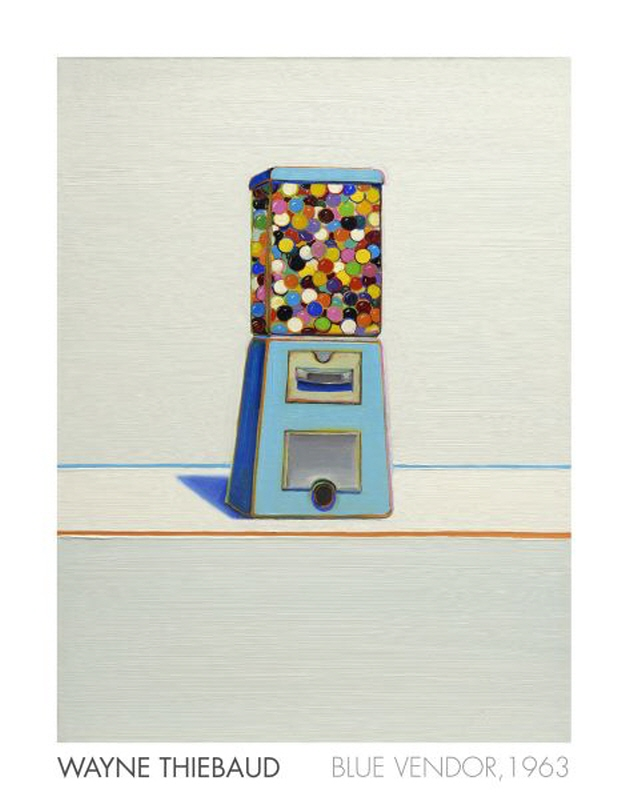Blue Vendor, 1963