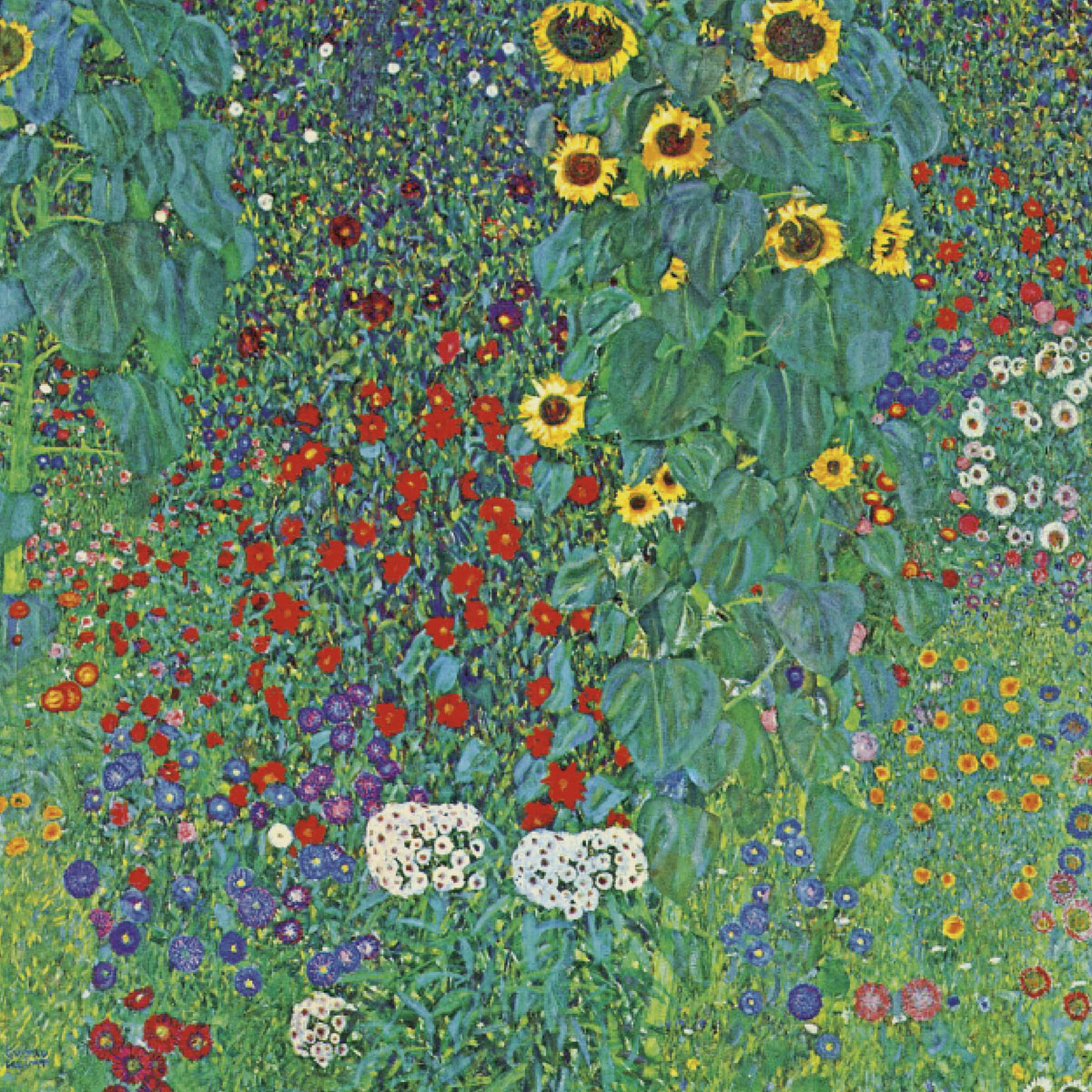 Farm Garden with Sunflowers, around 1905/1906