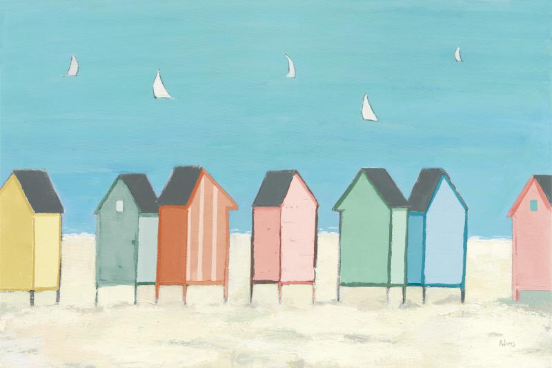 Cabanas I Pastel
