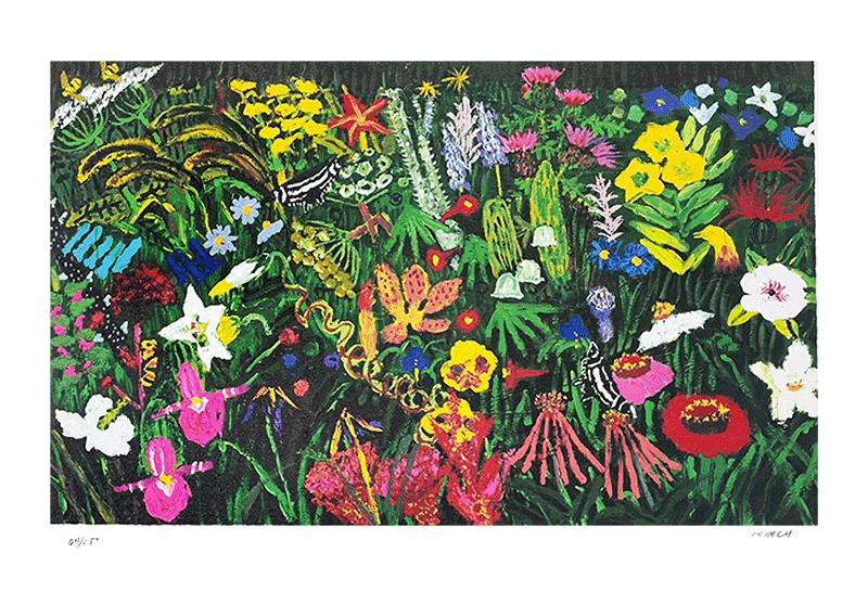 야생화들 처럼 추운 무명시절을 이겨내고 '한국의 피카소' 라는 별명을 얻으며 한국 미술사를 통틀어 가장 많은 작품을 남긴 화가