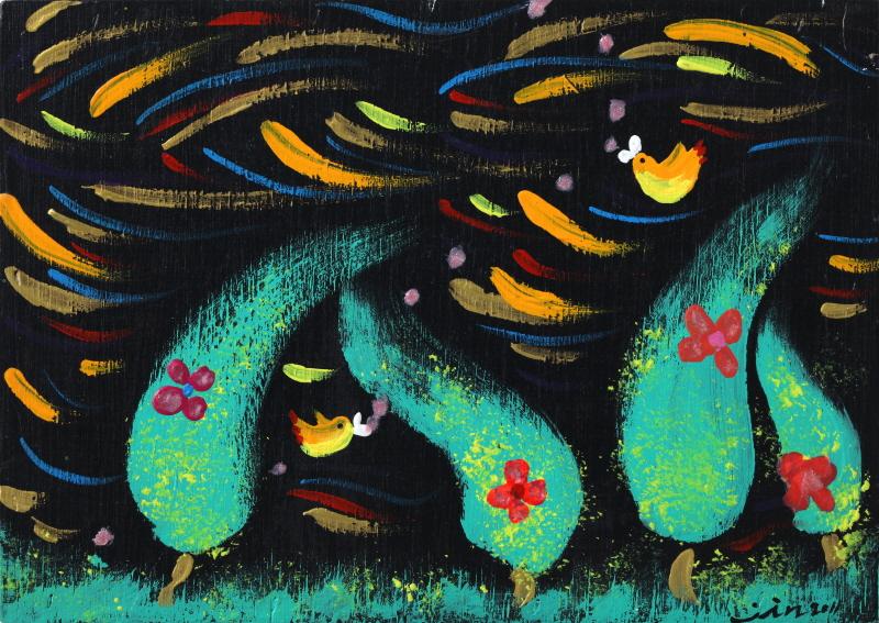 노래하는 나무