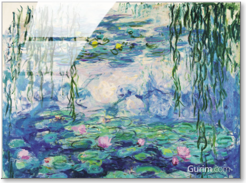 Waterlilies and Willow Branches