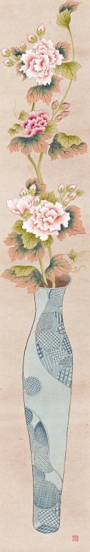 바램 (vase of happiness)6폭 6