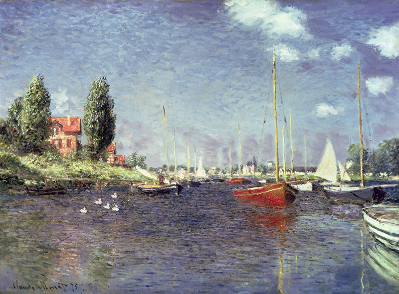 Red Boats, Argenteuil, 1875