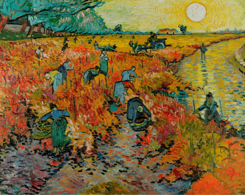 Red Vineyard at Arles, 1888 (아를의 붉은 포도밭)