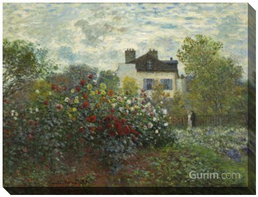 The Artist's Garden in Argenteuil (아젠틸 정원)