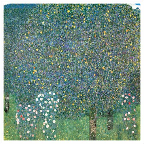 Rosenstrauche unter den Baumen (Roses under the Trees), 1905