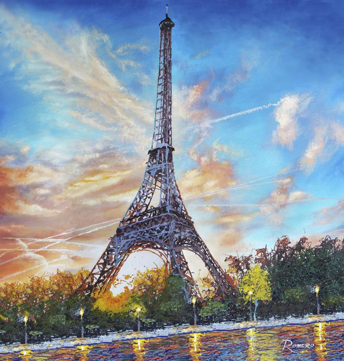 Paris Single Canvas