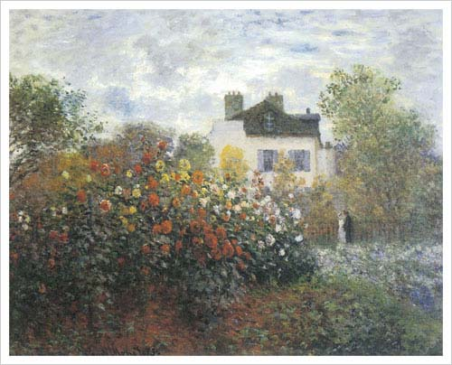 Monet's Garden At Argenteuil