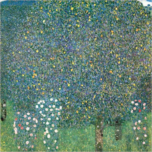Rosenstrauche unter den Baumen (Rosiers sous les Arbres) (Roses under the Trees)