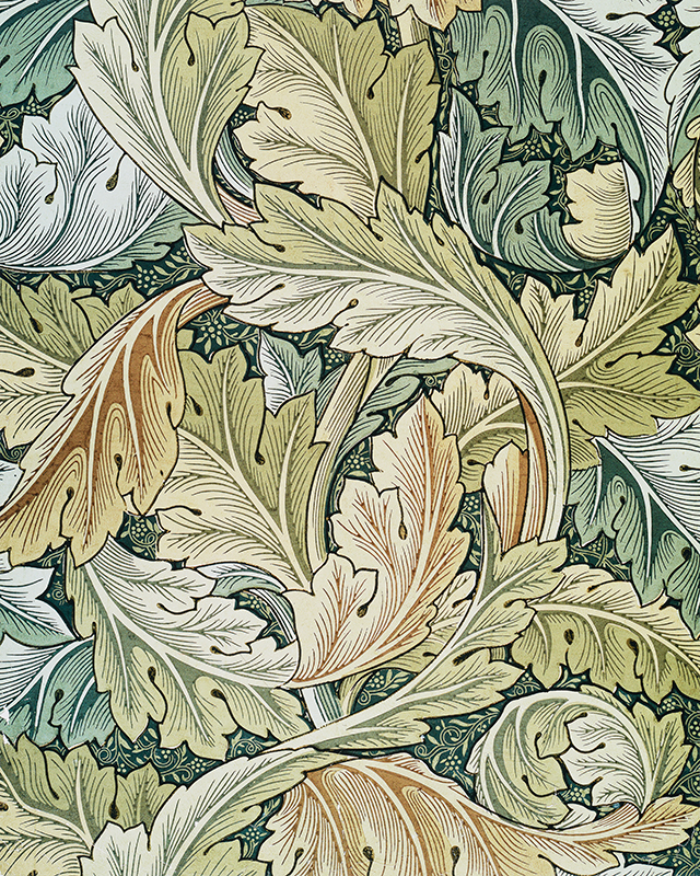 Acanthus Wallpaper, 1875