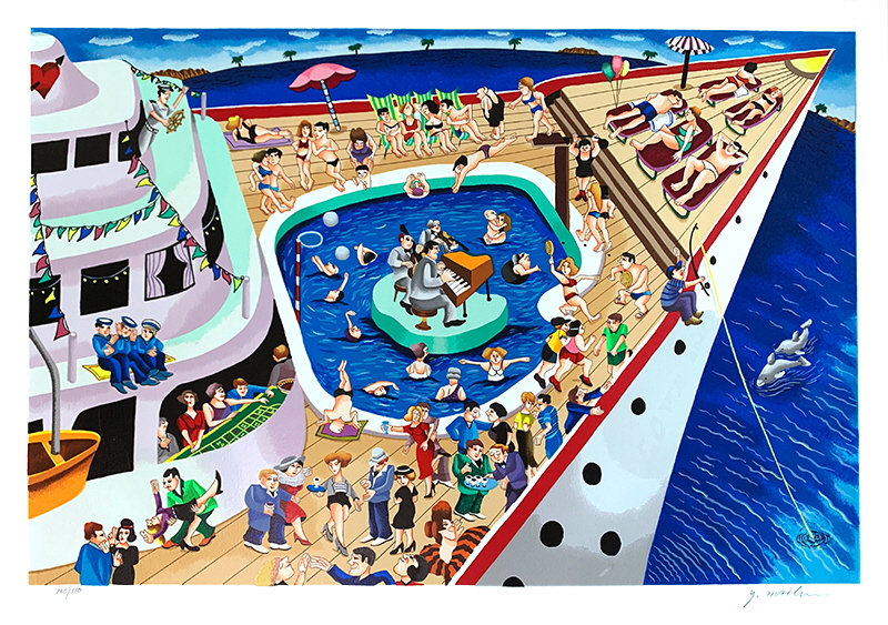 Cruise boat 380 Editions