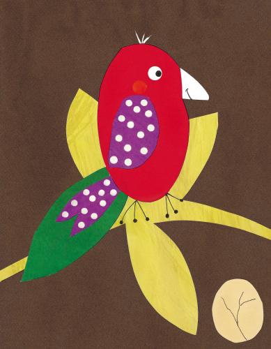 Dandy bird (red)