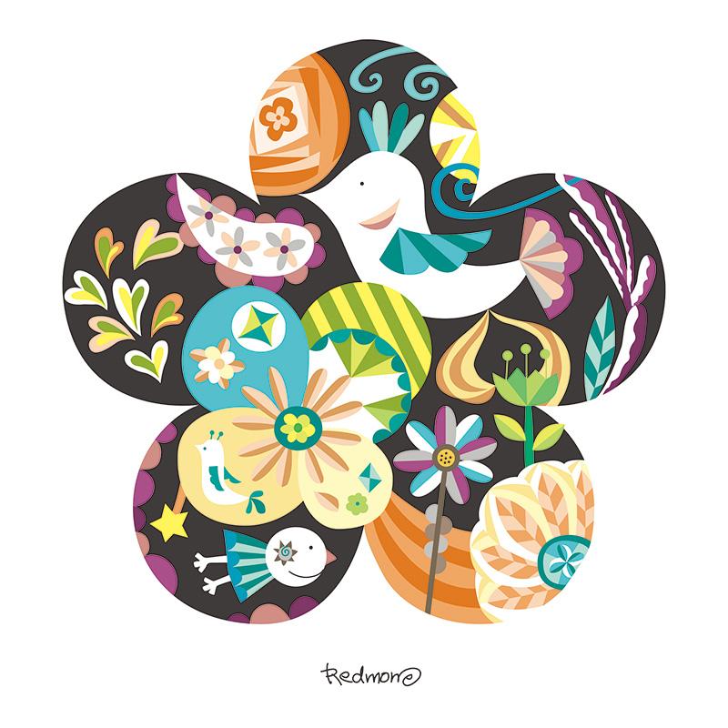 꽃의 숲 - 그레이