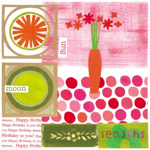 Joyful weekend (carrot)