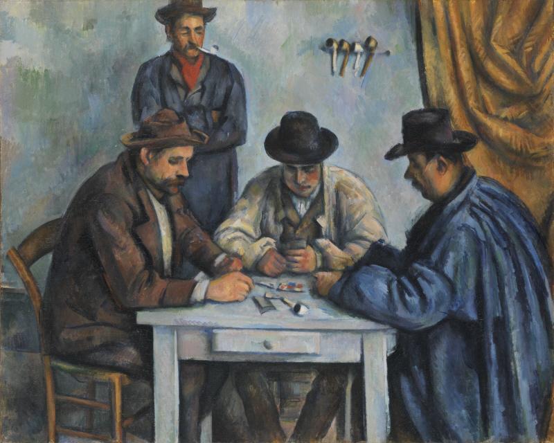 The Card Players (카드놀이하는 사람들)