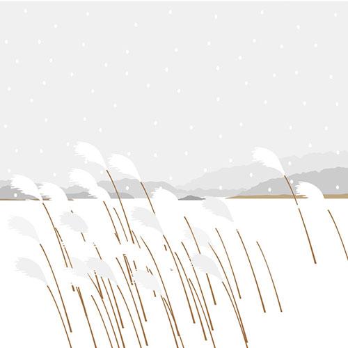 대청호의 겨울