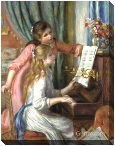 Young Girls at the Piano
