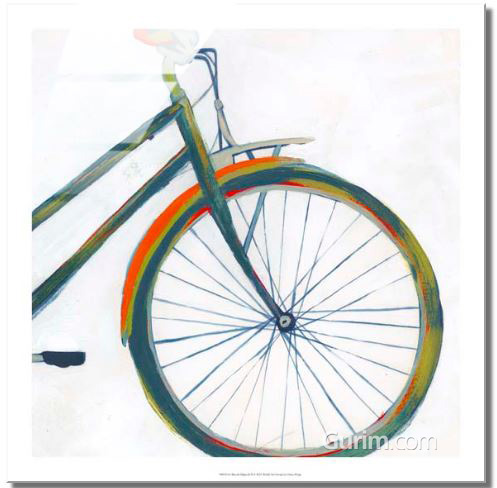 Bicycle Diptych II