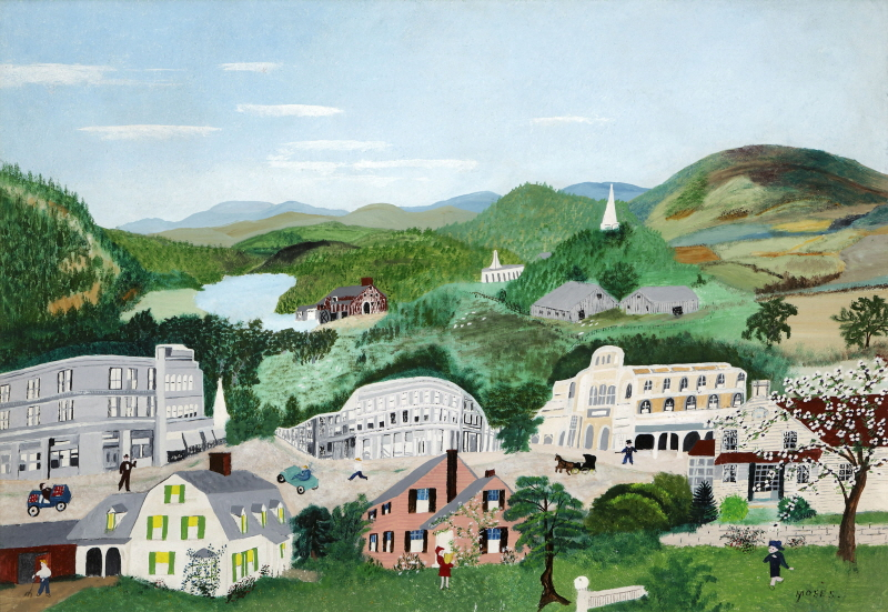 Bennington, 1945