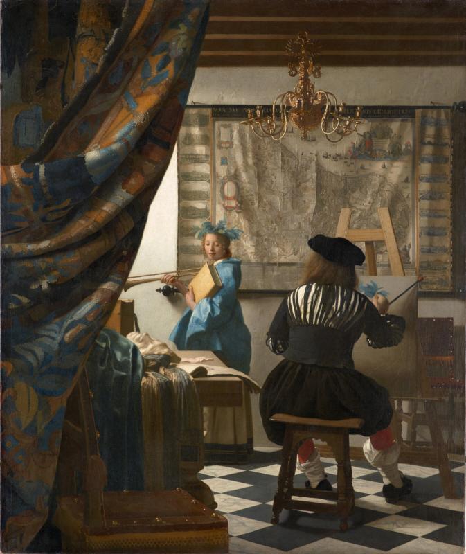 The Art of Painting (회화의 기술, 알레고리)